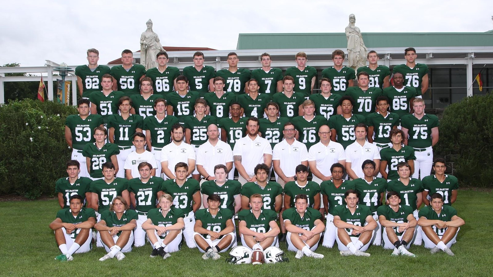 2018 Varsity Football Roster Delbarton Athletics