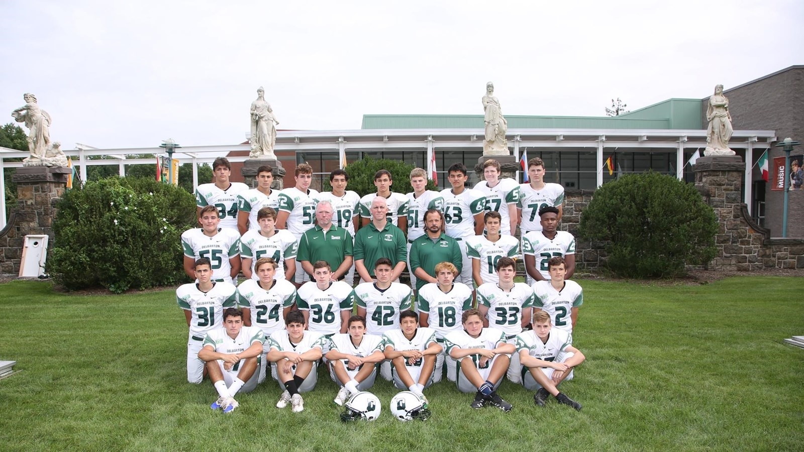 2018 Freshman Football Roster Delbarton Athletics