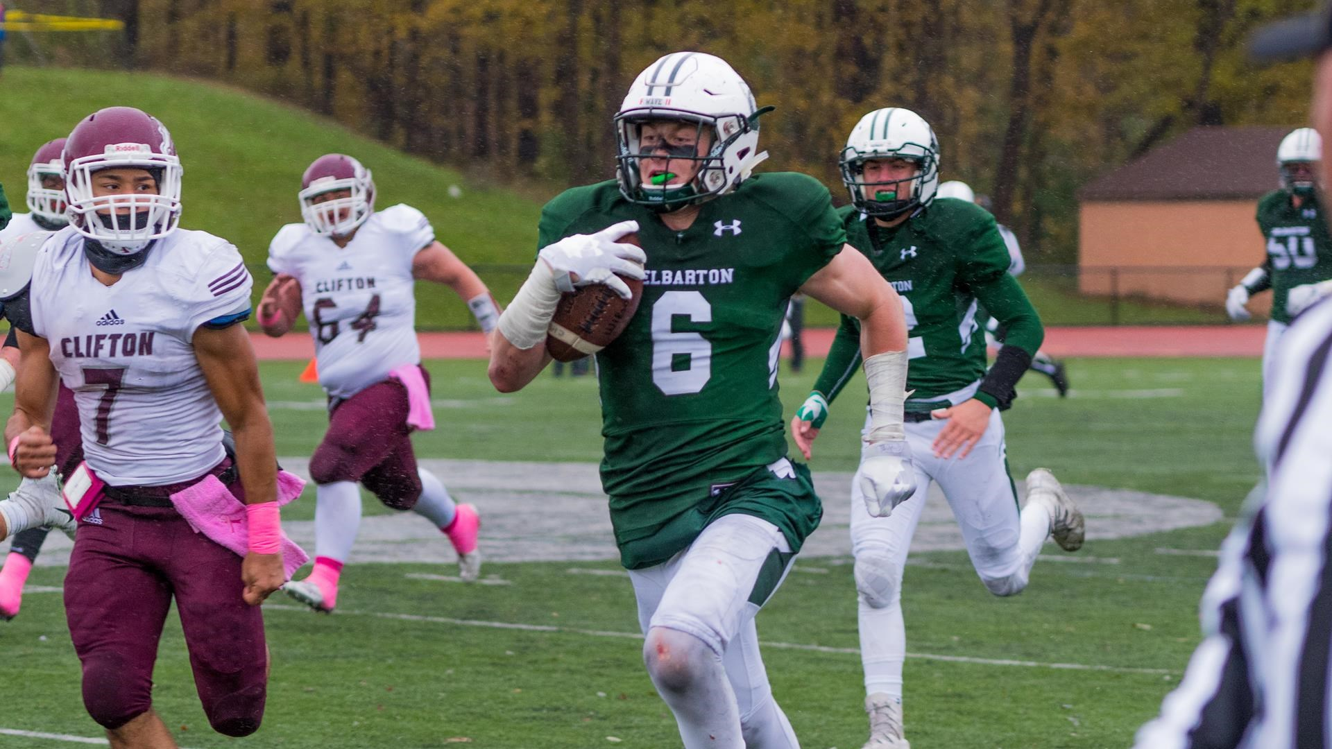 Delbarton Defeats Clifton 23 14 On Homecoming Day Delbarton Athletics